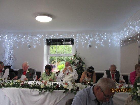 Falfield, UK: Mr & Mrs B's wedding