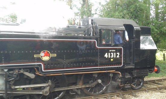 Shepton Mallet, UK: loco 41312