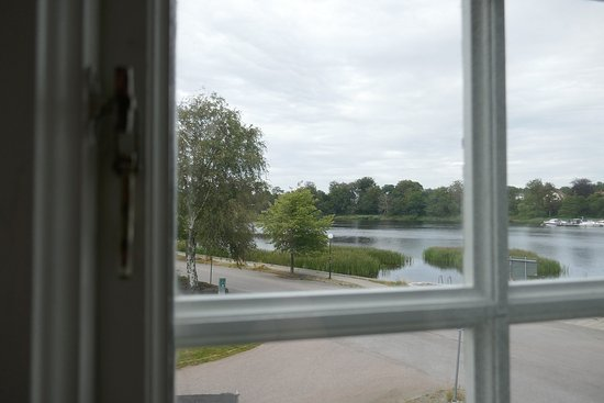 View from double room at Hotell Hamngatan 27, Falkenberg