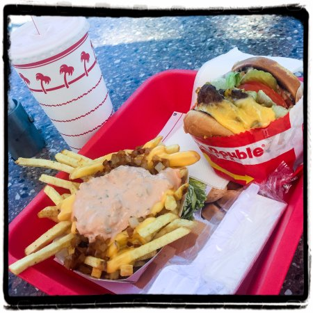 Double double w fries. Animal Style!