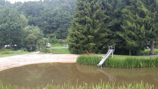 Moerschied, Niemcy: zwemvijver
