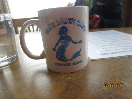 Oceanside, Орегон: coffee cup