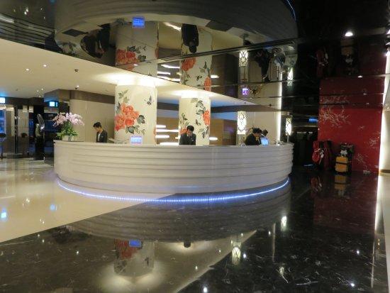 シーザーパーク ホテル台北(台北凱撒大飯店), ホテルレセプション
