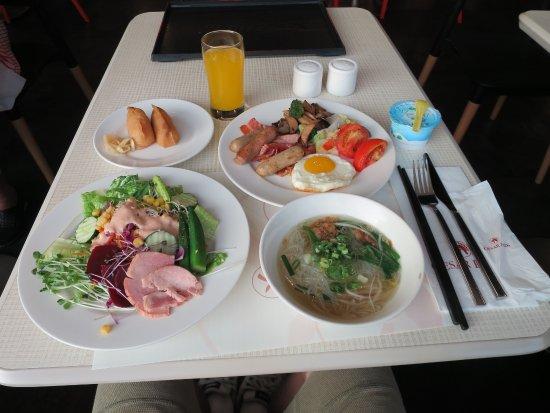シーザーパーク ホテル台北(台北凱撒大飯店), 2泊目の私の食べた朝食バイキング