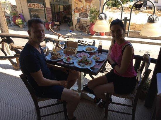 Lasithi Prefecture, Greece: Enjoying this amazing experience.