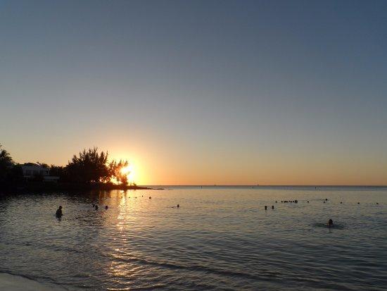 Pereybere Beach: Sunset