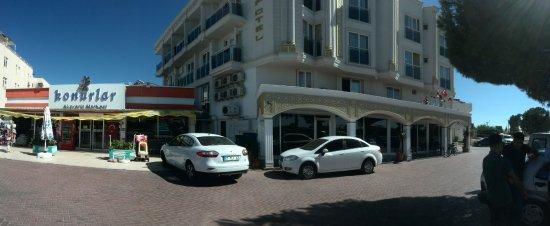 SARP Hotel Kadriye 3* - отель и супермаркет