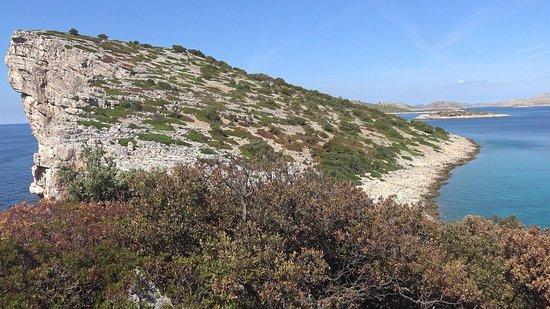 Kornati Islands National Park, Croácia: Rupe a Rasip