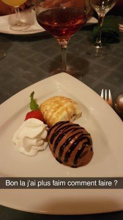 Mousse Au Chocolat Blanc Et Au Lait Picture Of Casa Tagoro Los