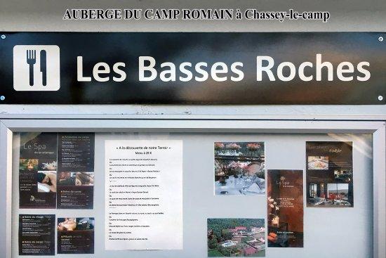 Chassey-le-Camp, Francia: entrée du restaurant