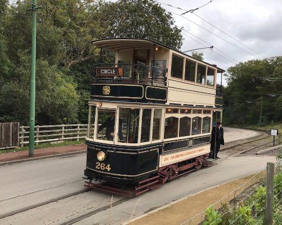 Beamish, UK: A 1908 Sheffield Tram