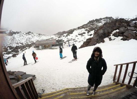 Mt Ruapehu : Ski slope
