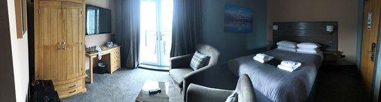 Balmaha, UK: Perfect Superior Double with Balcony Room.