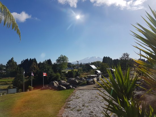 Raetihi, New Zealand: View from the room