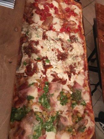 Tamai, Italia: Pizza 3 gusti