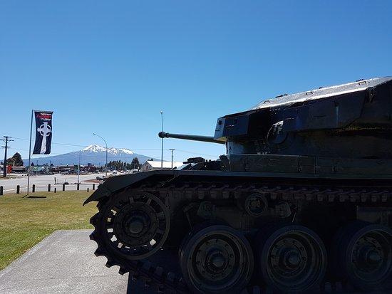 Waiouru, Νέα Ζηλανδία: Cromwell tank outside the museum