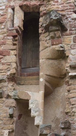 Washford, UK: Good example of a spiral staircase