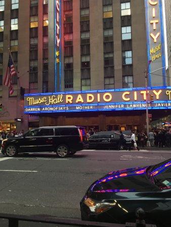 Photo of Radio City Music Hall in New York, NY, US