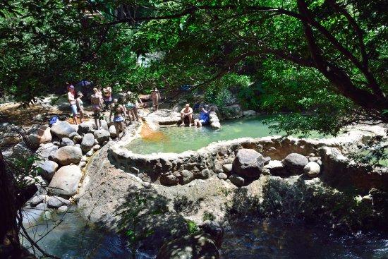 Rincon de La Vieja, Costa Rica: Rio Negro Hot Tubes