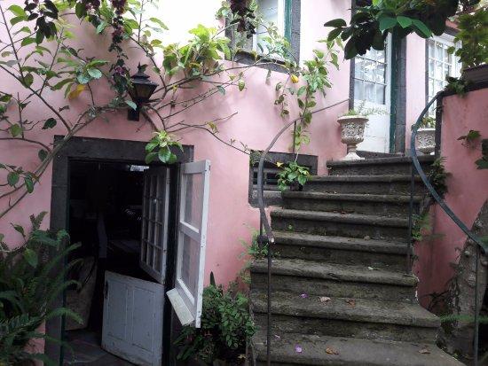 Sao Vicente Ferreira, Portugal: Der Eingang zum Speisesaal