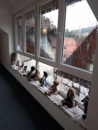 Obertrubach, Allemagne : de gang, ook met poppen