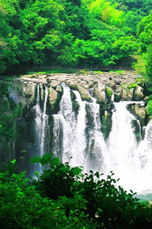 Sekinoo Fall : 夏の関之尾滝・その1