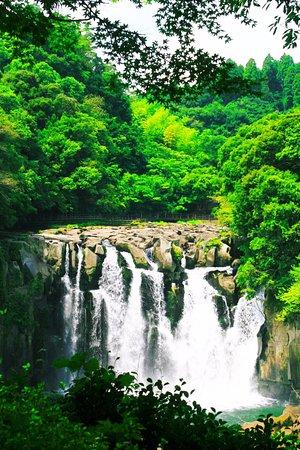 Sekinoo Fall : 夏の関之尾滝・その2