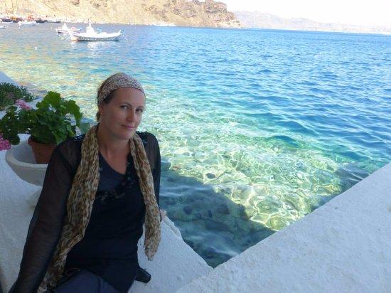 Thirassia, Grecja: azure seas