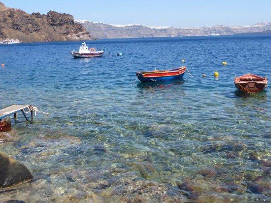 Thirassia, Grecja: stunning seas