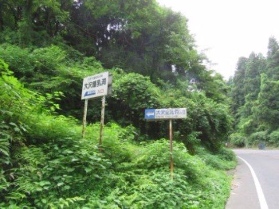 Gosen, Japan: 県道沿いの看板