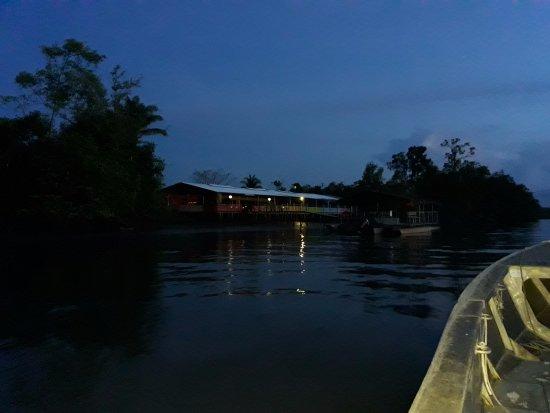 Matoury, French Guiana: arrivée au restaurant