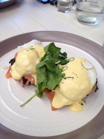 Melkbosstrand, Güney Afrika: Eggs Benedict