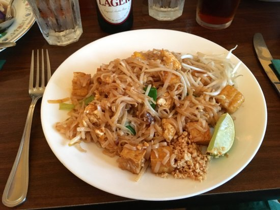 Easton, Pensilvania: A staple: Pad Thai noodles.