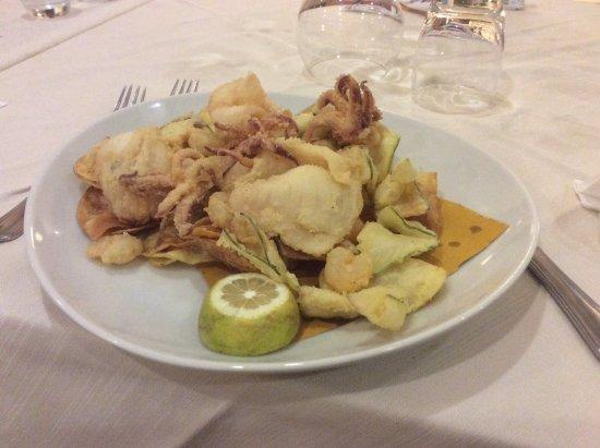 Airone Hotel: fritto misto mare
