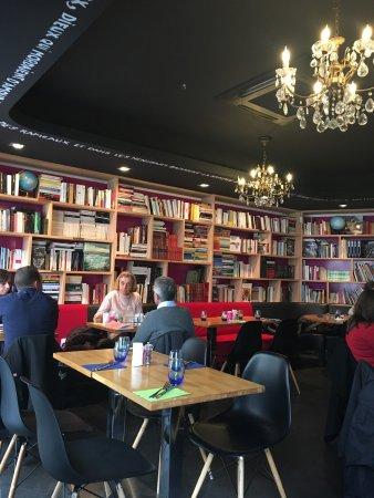 Restaurant La Librairie  Rue Duban