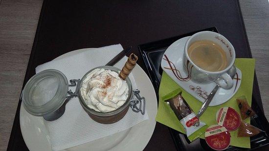 La Stradella : mousse au chocolat et café