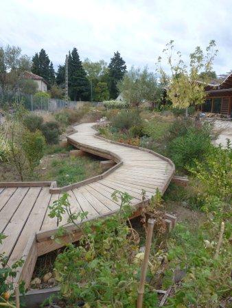 Serignan-du-Comtat, ฝรั่งเศส: Le jardin