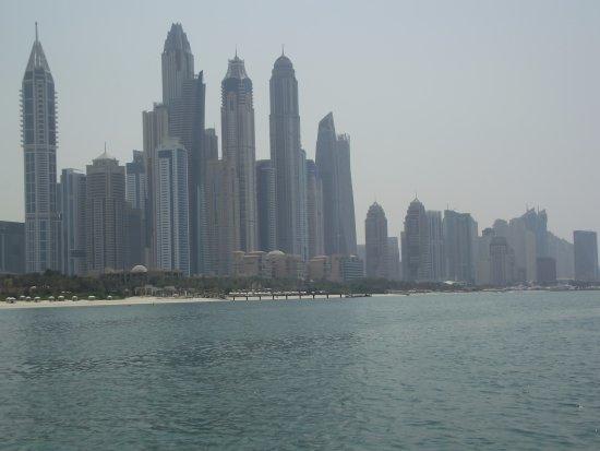 Le Meridien Mina Seyahi Beach Resort and Marina: View from the Sea