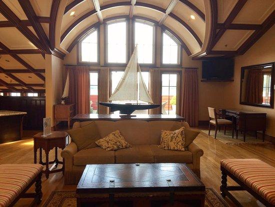 Pender Island, Kanada: the lobby