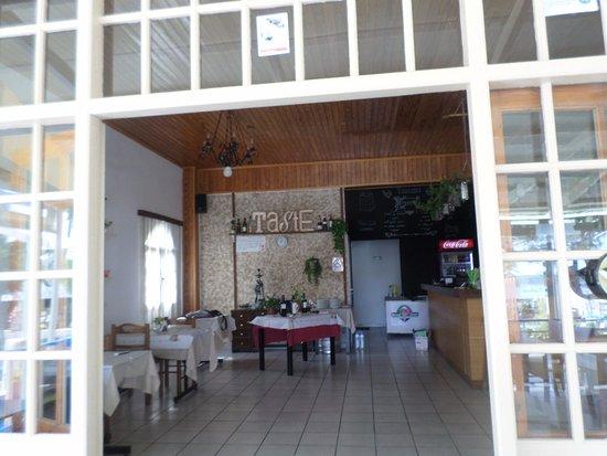Tzatziki: indoor restaurant