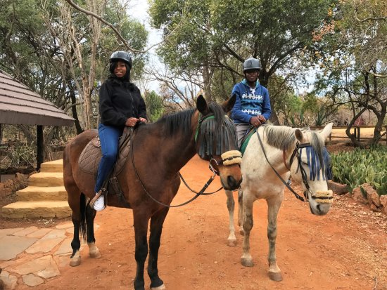 Hartbeespoort, Südafrika: Even if you have never ridden a horse before, we guarantee an amazing experience!