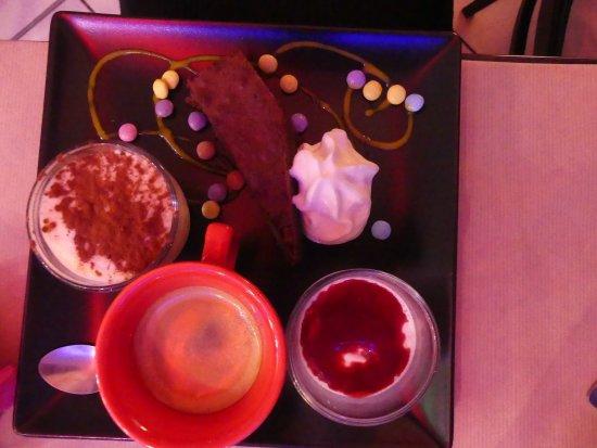 Boulogne sur Gesse, France: Cafe gourmand