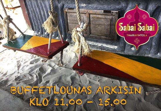 Haemeenlinna, Finland: Buffetlounas arkisin klo 11 - 15