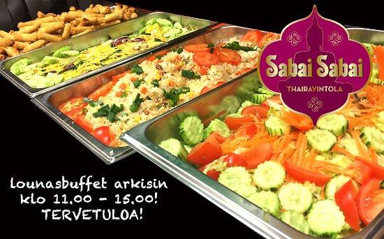 Хаемеенлинна, Финляндия: Welcome to test our buffet lunch! It's fantastic!