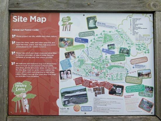 Swadlincote, UK: Site map