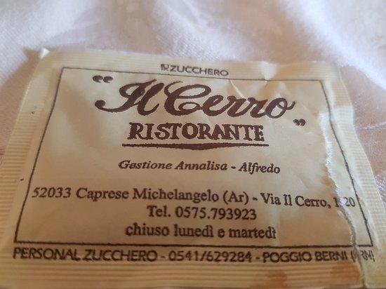 Ristorante Il Cerro: 20170917_151946_large.jpg