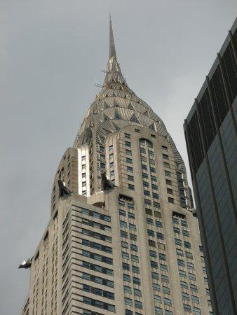 Chrysler Building: gargoyles and iconic spire