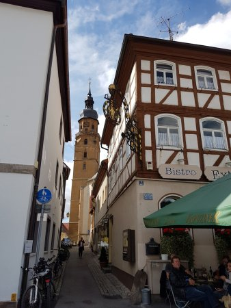 Bad Konigshofen, Allemagne : Eingang