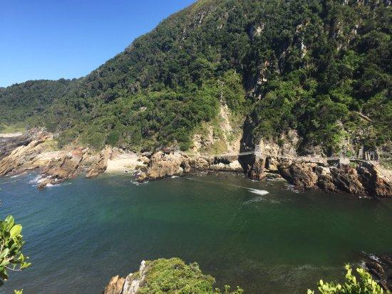 Tsitsikamma National Park, Republika Południowej Afryki: Storms River Mouth