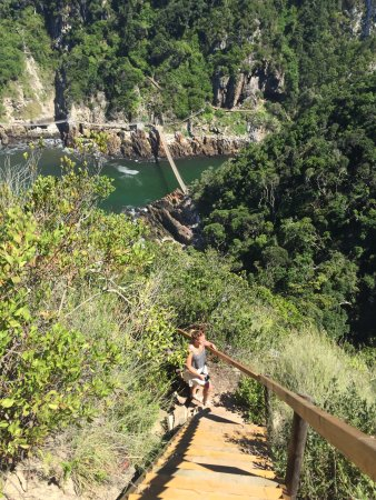Tsitsikamma National Park, Sydafrika: Storms River Mouth